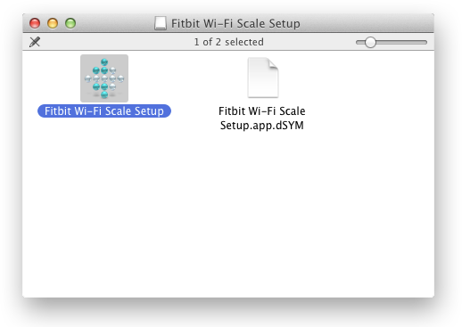 Using a Wi-Fi Enabled Computer: Mac Client Icon