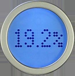 Lorsque vous montez sur la balance Aria, son écran affiche les données suivantes: % de masse grasse