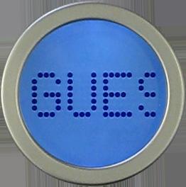 Lorsque vous montez sur la balance Aria, son écran affiche les données suivantes: Initiales de l'utilisateur
