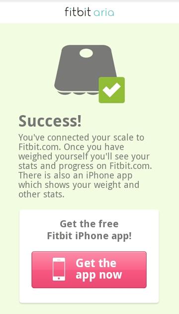 Utilisation d'un smartphone ou d'une tablette Wi-Fi: Opération réussie