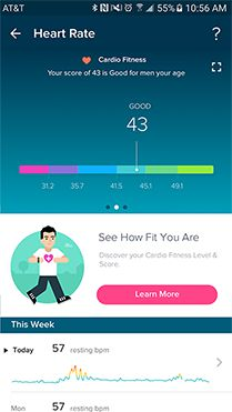 larrybird9483 Cardio Fitness Score