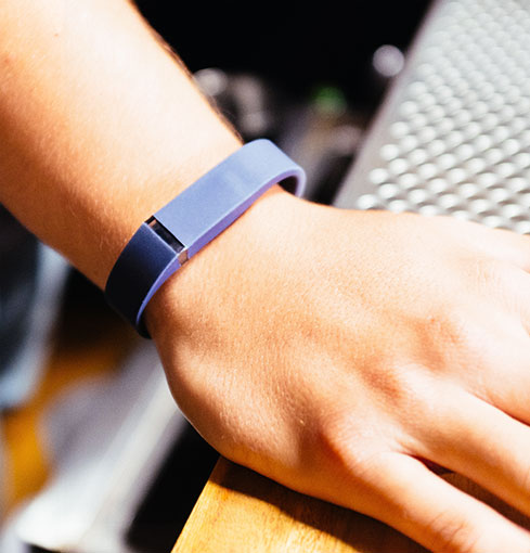 Fitbit Flex in Navy