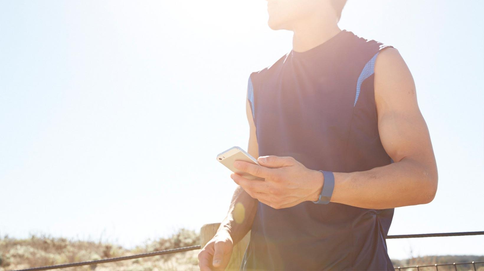 Fitbit Aktivitätstracker Charge Hr App : Fitbit charge hr™ armband mit kabellosem herzfrequenz und