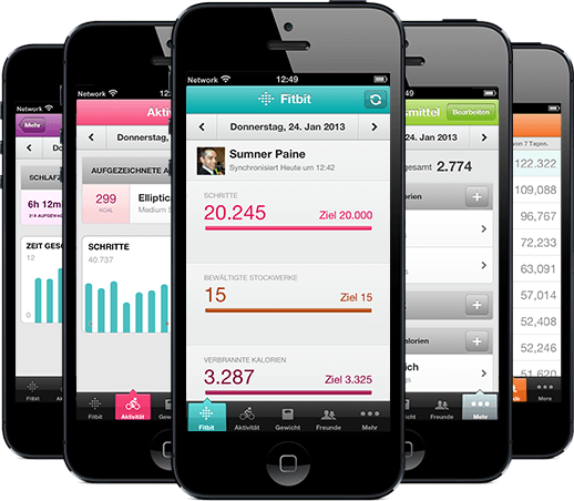 fitbit app for iphone 4 kostenlose iphone app fitbit 1384