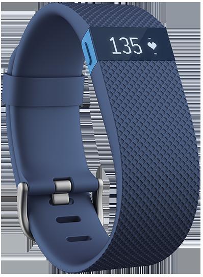 Bracelet Fitbit H Haute Activité Physique, Adulte Unisexe, Bleu, Petit