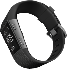 Fitbit Surge in black